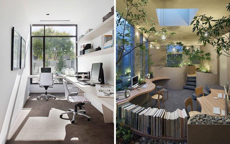 20 Inspirasi Desain Kantor Kecil Yang Nyaman