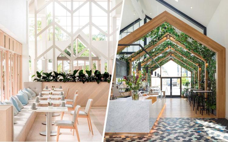 Inspirasi Desain Cafe Minimalis dan Simple