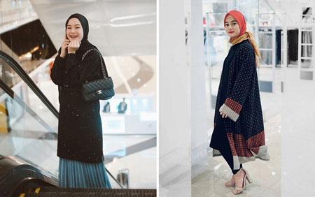 OOTD Hijab Ala Dinda Hauw Yang Menginspirasi