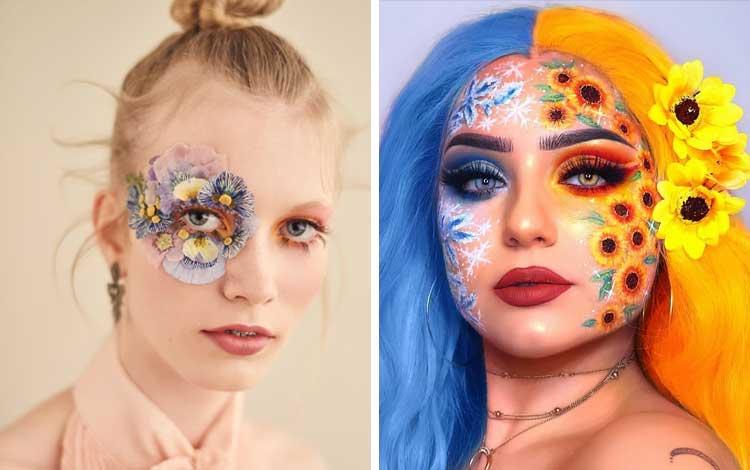 Suka Dandan, Simak Inspirasi Art Makeup Yang Bisa Kamu Pelajari Berikut Ini