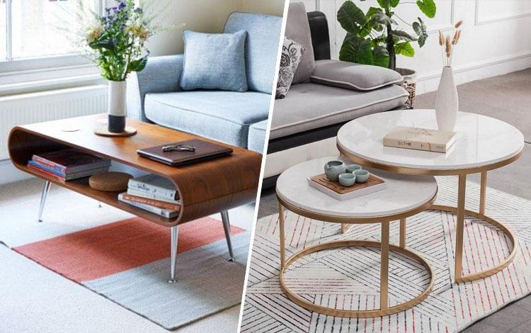 20 Inspirasi Desain Meja Ruang Tamu Minimalis
