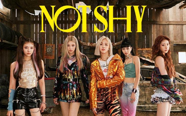 "Fakta ""Not Shy"", Lagu Terbaru Dari Girlband ITZY Yang Keren Dengan Dance Yang Seksi Abis"