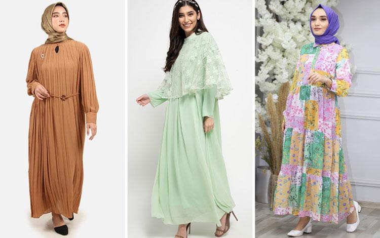 Model Baju Gamis Terbaru Yang Kekinian Agar Terlihat Makin Trendi