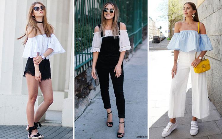 Inspirasi Mix And Match Baju Sabrina Untuk Look Yang Kekinian