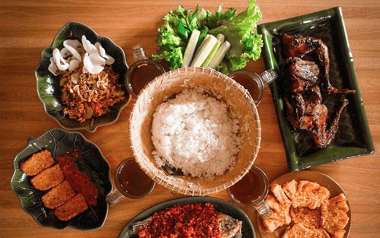 Rumah makan khas Sunda di Bandung