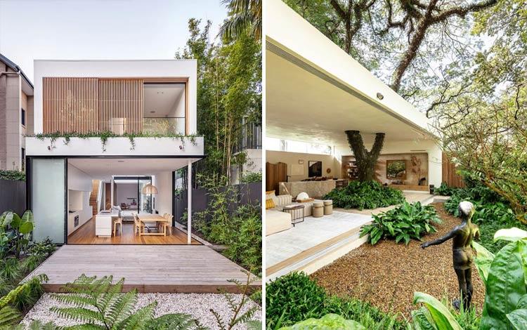 Desain rumah bernuansa tropis