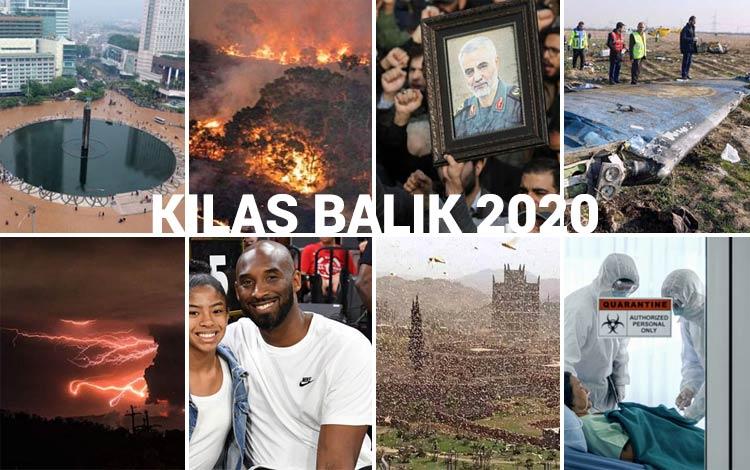 Kilas Balik 2020: Dari Bencana Alam, Meninggalnya Sejumlah Artis Hingga Covid 19