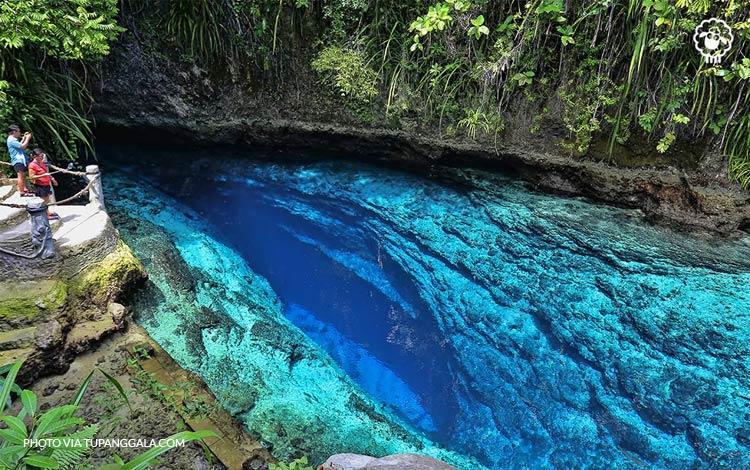 Hinatuan Enchanted River Filipina