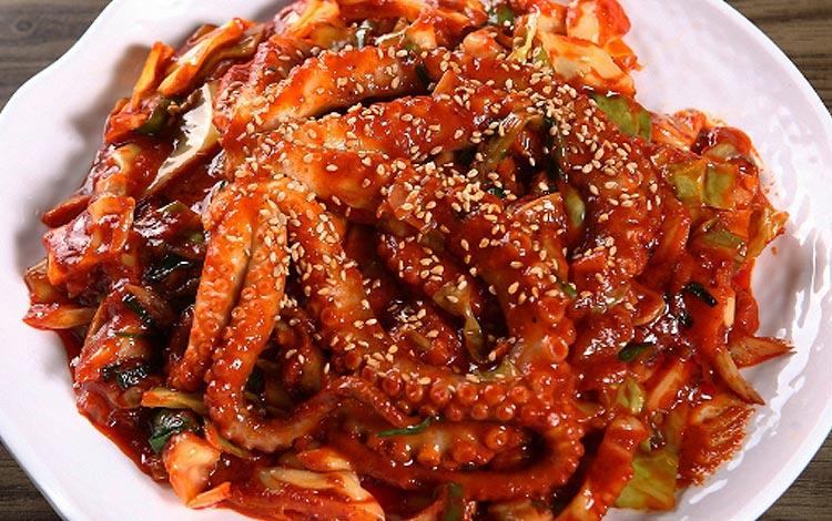 Makanan pedas Korea