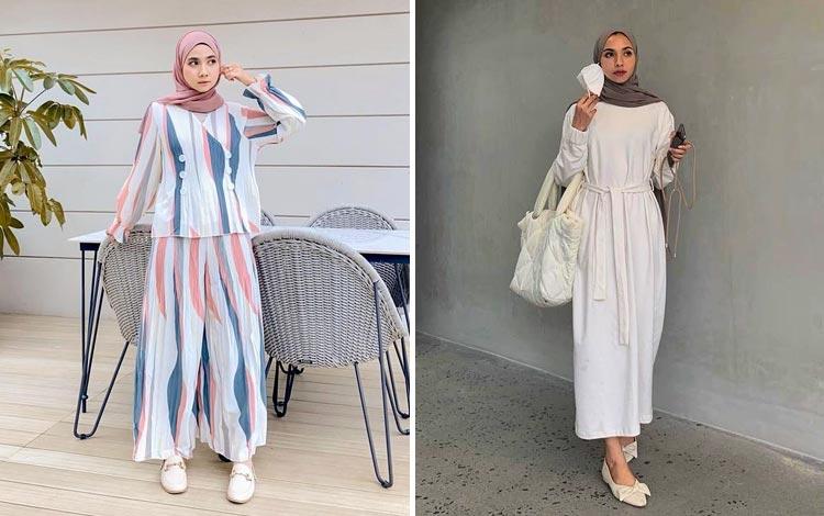 Mix and Match Flat Shoes Hijab