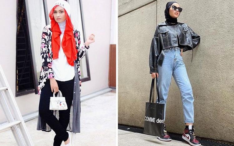 OOTD Hijab Kekinian Yang Anti Mainstream