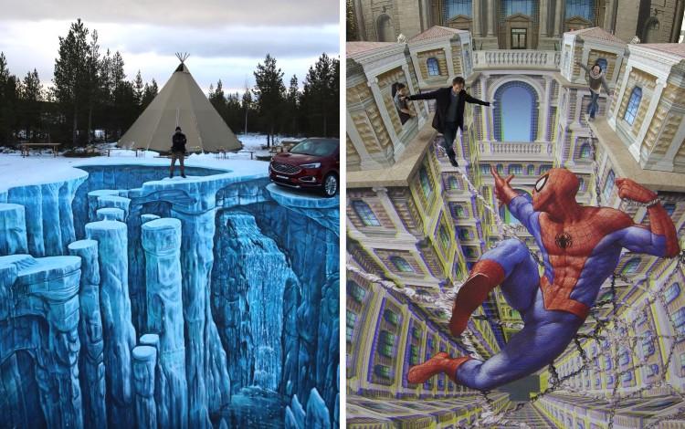 3D Street Art Paling Keren di Dunia